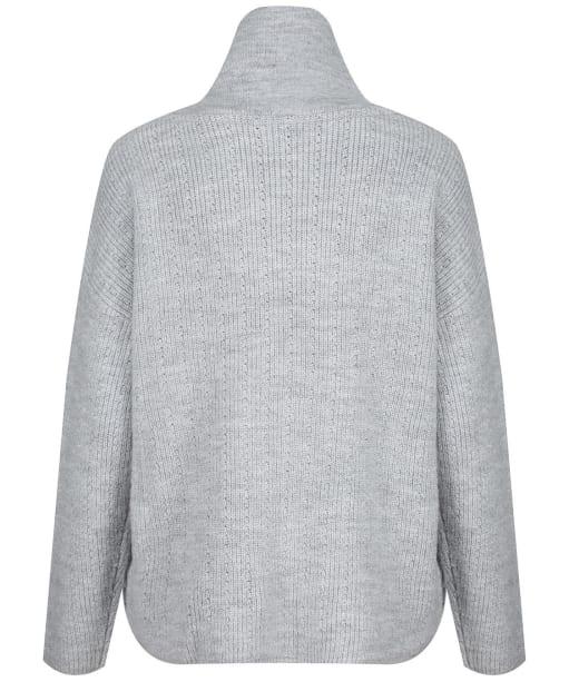 Women's Crew Clothing Kara Zip Neck Jumper - Grey Marl