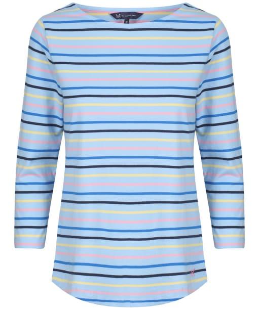 Women's Crew Clothing Essential Breton Top - Blue Multi