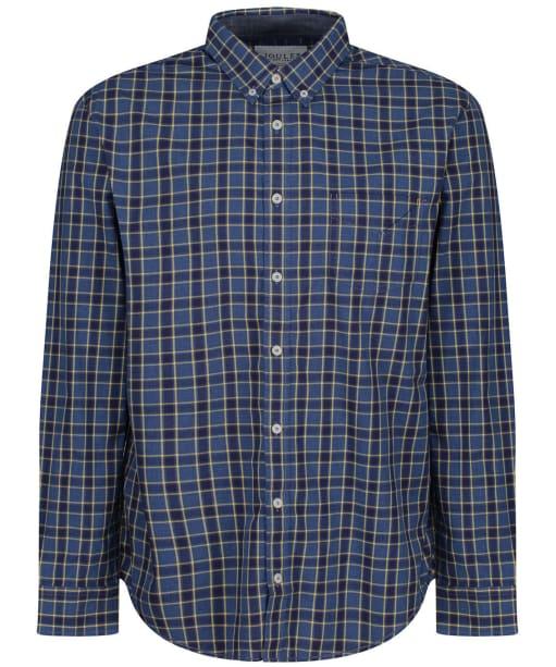 Men's Joules Lyndhurst Shirt - BLUE/YELLOW CHK