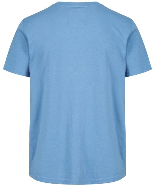 Men's Crew Clothing Salcombe Printed Tee - Deep Pool