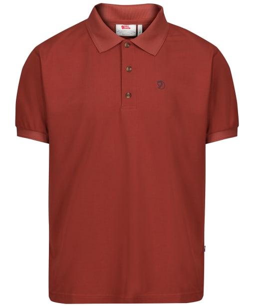 Men's Fjallraven Crowley Pique Shirt - Deep Red