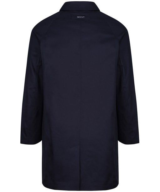 Women's GANT Tech Prep Rain Mac Coat - Evening Blue