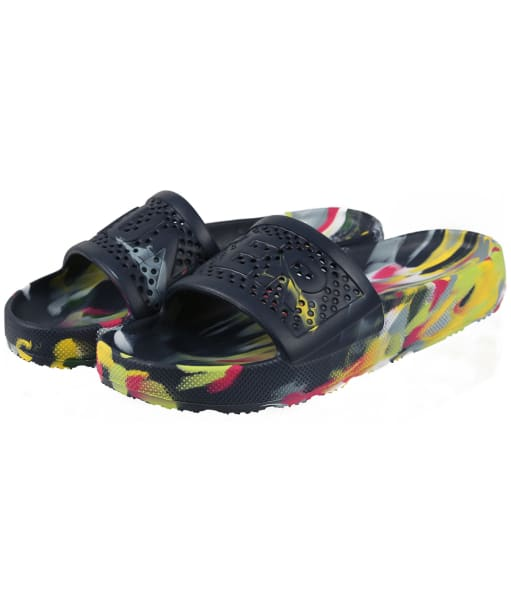 Women's Hunter Original Marble Sliders - Multi Bright