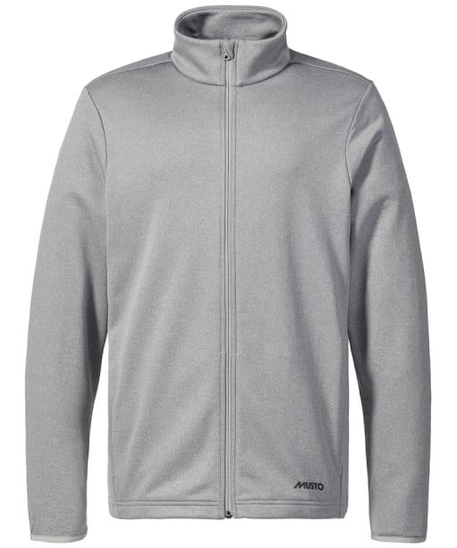 Men's Musto Essential Full Zip Sweat - Grey Melange