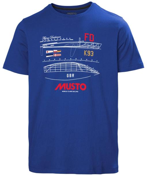 Men's Musto Flying Dutchman T-Shirt - Marine Blue