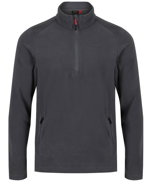 Men's Musto Corsica 100gm ½ Zip Fleece - Dark Grey