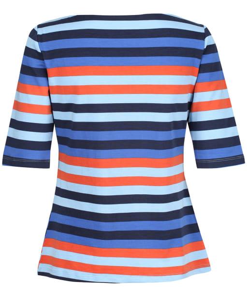 Women's Lily & Me Monica Midi Sleeve Top - Navy Multi