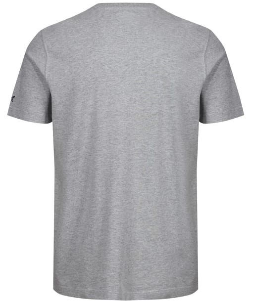 Men's Crew Clothing Graphic Tee - Grey Marl