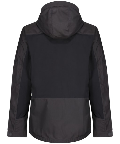 Men's Fjallraven Abisko Lite Trekking Jacket - Dark Grey / Black