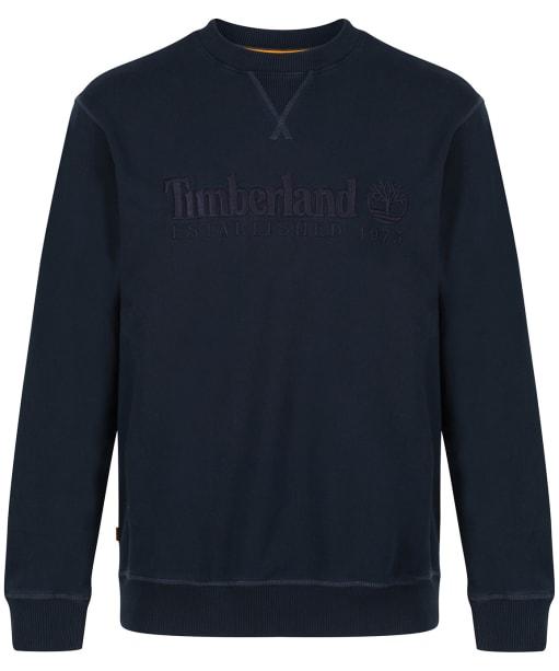 Men's Timberland Outdoor Heritage Crew Neck Sweatshirt - Dark Navy