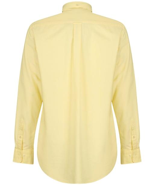 Men's Gant Regular Oxford Shirt - BRIMSTONE YELLW