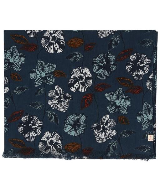 Women's Seasalt New Everyday Scarf - Sketched Flowers Dusky Jade