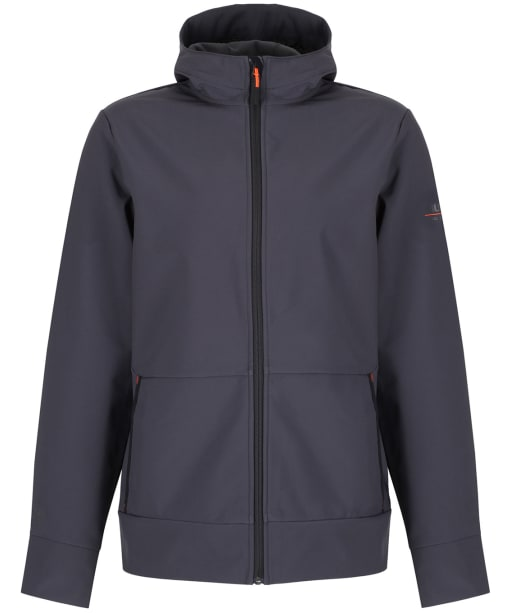 Men's Musto Land Rover Full Zip Softshell Hoodie - Carbon