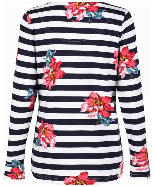 Women's Joules Harbour Print Top - Cream
