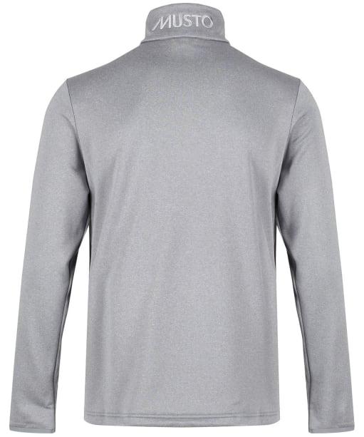 Men's Musto Essential ½ Zip Sweat - Grey Melange