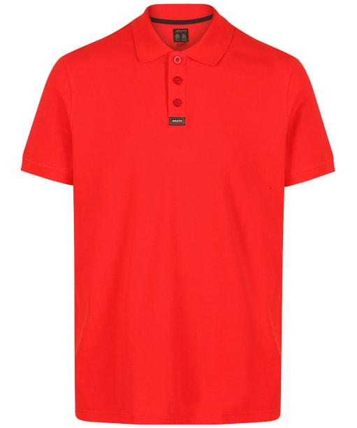 Men's Musto Pique Polo Shirt - True Red