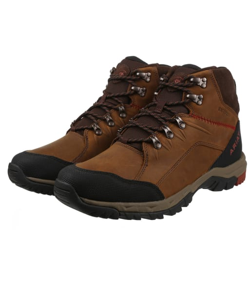 Men's Ariat Skyline Mid H2o Boots - Distressed Brown