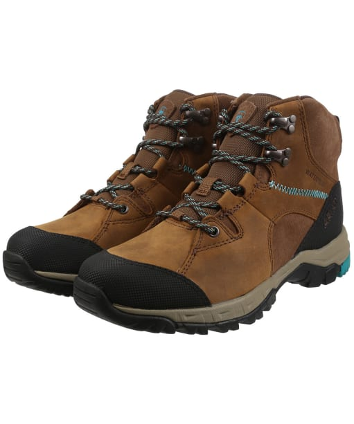 Women's Ariat Skyline Mid H2o Boots - Distressed Brown