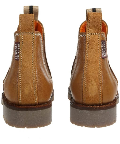 Women's Penelope Chilvers Amelia Stitch Suede Boots - Tan