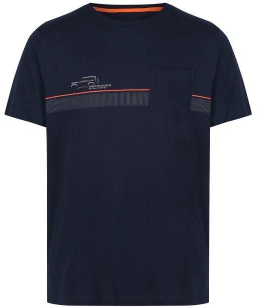Men's Musto Land Rover Pocket T-Shirt - Navy