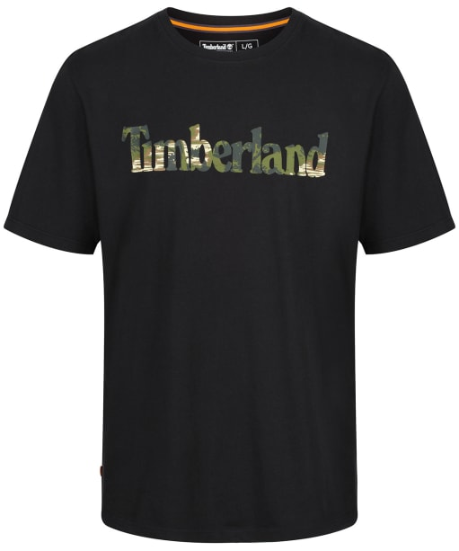 Men's Timberland Kennebec River Seasonal Pattern Tee - Black