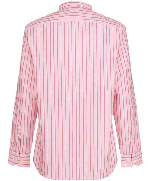 Men's Tommy Hilfiger Preppy Oxford Stripe Shirt - Glacier Pink / Multi