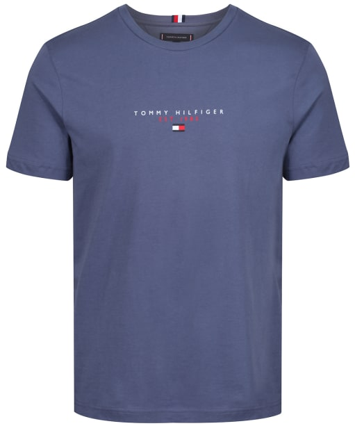 Men's Tommy Hilfiger Essential Tommy Tee - Faded Indigo