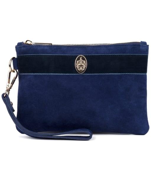 Women's Hicks & Brown Chelsworth Clutch Bag - Navy