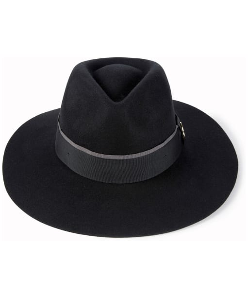 Women's Hicks & Brown Oxley Fedora - Black