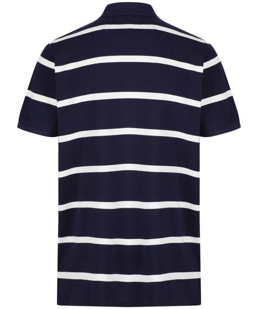 Men's Joules Filbert Striped Polo Shirt - Navy Stripe
