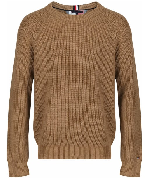 Men's Tommy Hilfiger Classic Rib Sweater - Classic Camel Heather