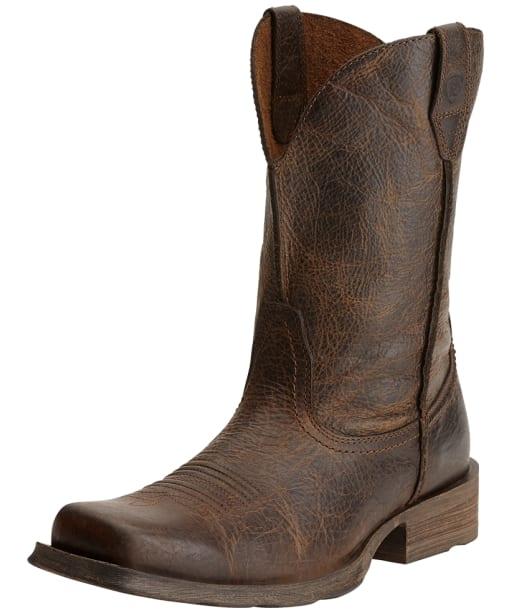 Men's Ariat Rambler Wide Fit Boots - Wicker