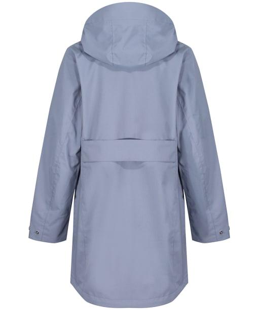 Women's Didriksons Folka Waterproof Parka 4 - Foggy Blue