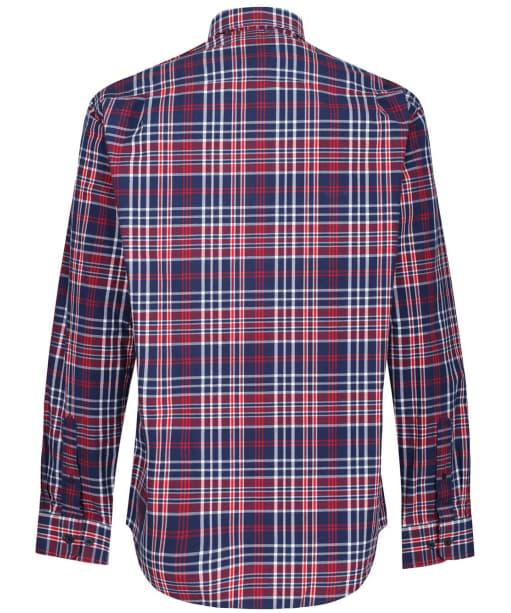 Men's R.M. Williams Collins Shirt - Navy / Red