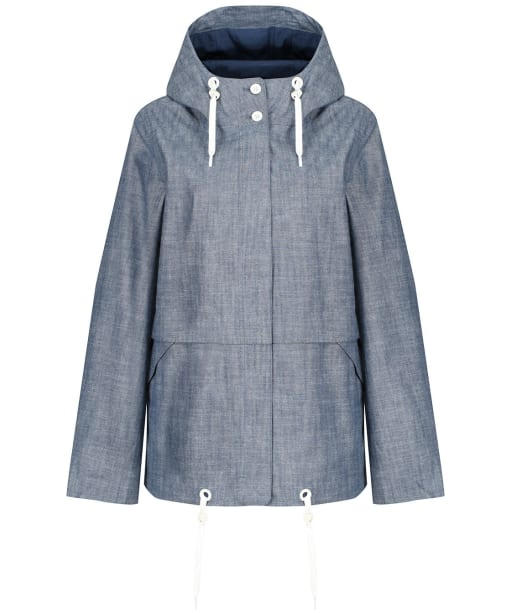 Women's Seasalt Blue Depth Jacket - Trenninow Chambray