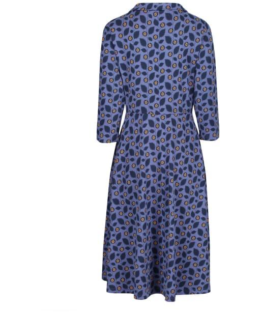 Women's Seasalt Carn Morval Dress - Embossed Flower Wild Pansy