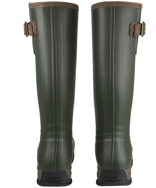 Men's Ariat Burford Insulated Wellington Boots - Olive