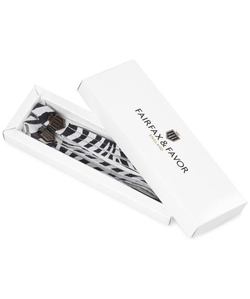 Women's Fairfax & Favor Boot Tassels - Zebra Haircalf
