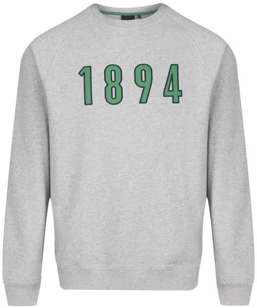 Men's Barbour Crest 1894 Sweatshirt - Grey Marl