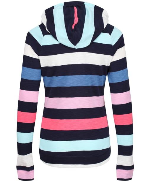 Women's Joules Marlston Stripe Sweatshirt - French Navy Multi