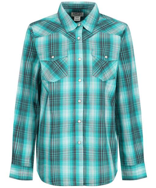 Women's Ariat R.E.A.L. Magnetic Shirt - Tropical Green