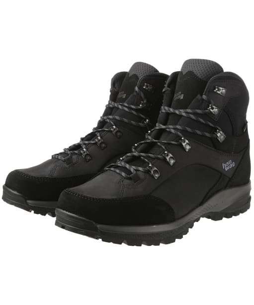 Men's Hanwag Banks SF Extra GTX Boots - Black/Asphalt
