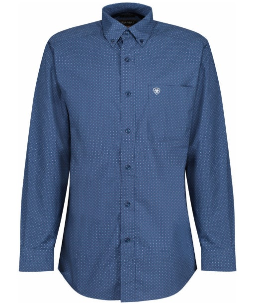 Men's Ariat Danny Fitted L/S Shirt - Old Bay