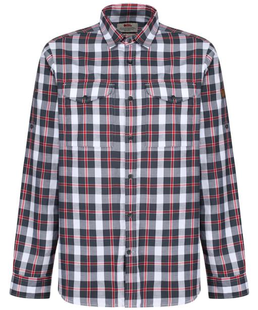 Men's Fjallraven Singi Flannel Shirt - Dusk