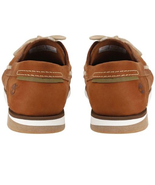 Men's Timberland Atlantis Break Boat Shoes - Medium Red Nubuck
