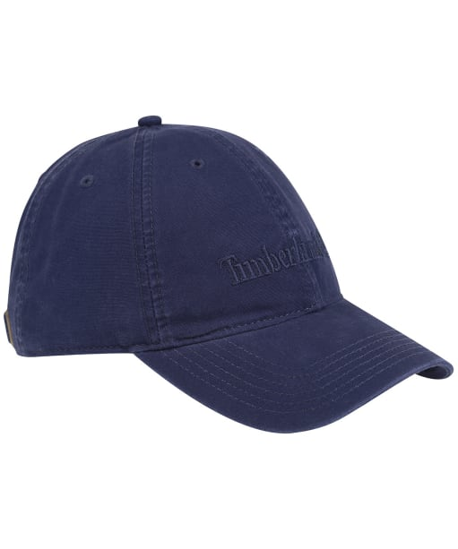 Men's Timberland Cotton Canvas Baseball Cap - Peacoat