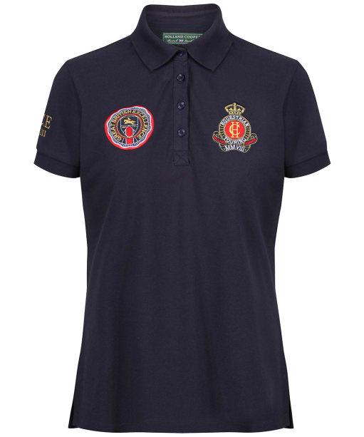 Women's Holland Cooper Team Polo Shirt - Ink Navy