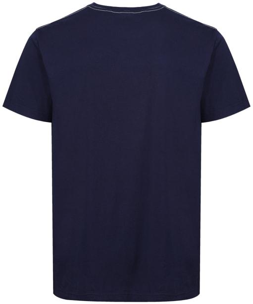 Men's GANT Arch Outline T-Shirt - Evening Blue