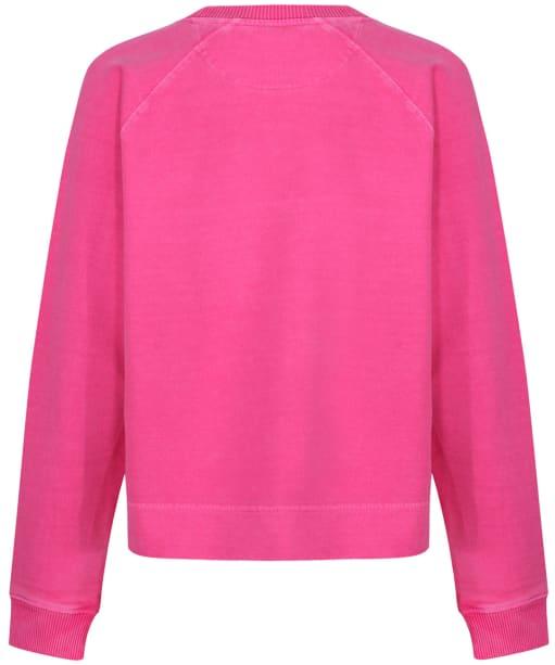 Women's GANT Sunfaded Crew Neck Sweater - Cabaret Pink