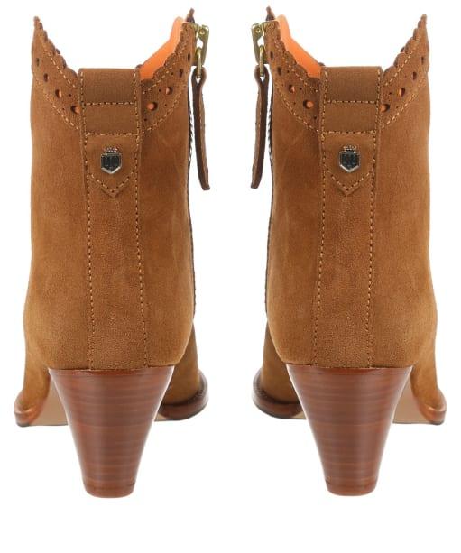 Women's Fairfax & Favor Regina Ankle Boot - Tan Suede
